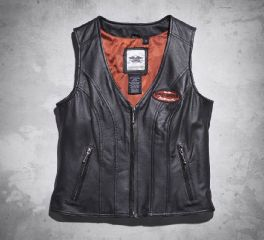 Women's Classica Leather Vest