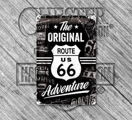 Harley-Davidson® Original Route 66 Tin Sign, Nostalgic Art 22224