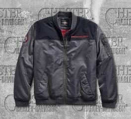 Harley-Davidson® Men's Ripstop Accent Bomber Jacket 97474-19VM