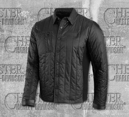 Harley-Davidson® Men's Cordura Ripstop Slim Fit Shirt Jacket 96571-19VM