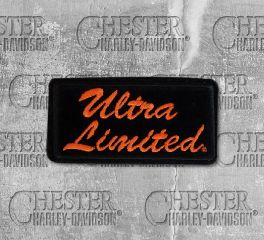 Harley-Davidson® Small Embroidered Ultra Limited Patch, Global Products, Inc. EM1061642