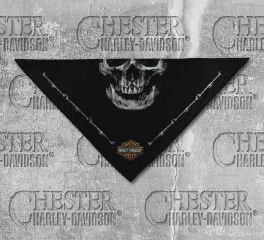 Harley-Davidson® Men's 3-in-1 Convertible Deadly Jaw Bandana, Global Products, Inc. BAC91080