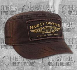 Harley-Davidson® Men's Brown Highest Performance Painters Cap, Global Products, Inc. PC33668