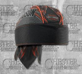 Harley-Davidson® Men's Tribal Edge Piping Perforated Headwrap, Global Products, Inc.