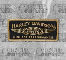 Harley-Davidson® Highest Performance Embroidered Emblem, Global Products, Inc. EM336772