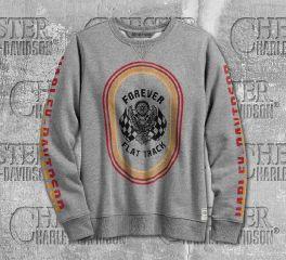 Harley-Davidson® Women's Forever Flat Track Pullover Sweatshirt 99240-19VW
