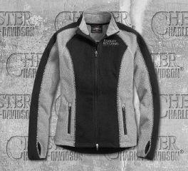 Harley-Davidson® Women's Skull Windproof Fleece Jacket 98407-19VW