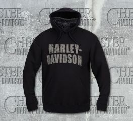 Harley-Davidson® Men's Bandana Mask Pullover Sweatshirt, RK Stratman Inc. R002859