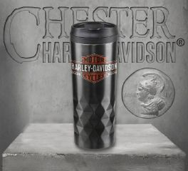 Harley-Davidson® Core Trademark Logo Stainless Steel Travel Mug HDX-98612