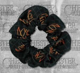 Harley-Davidson® Women's Spark H-D® Hair Scrunchie, Global Products, Inc. HS31830