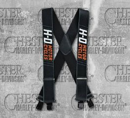 "Harley-Davidson® 54"" Men's Traction H-D® Suspenders, Global Products, Inc. SUS315806"