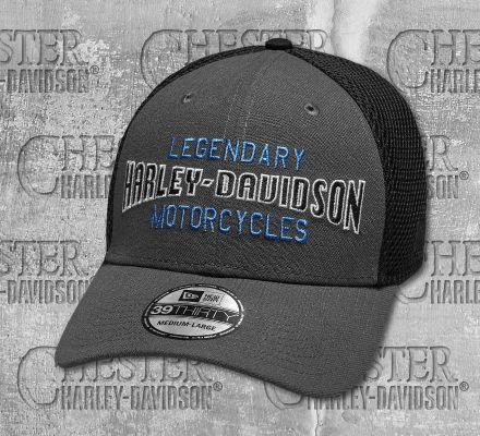 Harley-Davidson® Men's Legendary Colorblocked 39THIRTY® Baseball Cap 97840-19VM