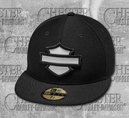 Harley-Davidson® Men's Hex Mesh 59FIFTY® Reflective Cap 97845-19VM