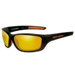 Men's Orange Silencer Sunglasses