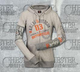 Harley-Davidson® Women's Unified Sweater Hoodie, RK Stratman Inc. R003204