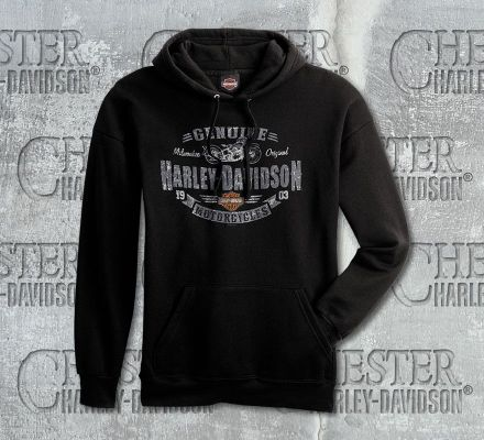 Harley-Davidson® Men's Genuine H-D® Motorcycles Sweatshirt, RK Stratman Inc. R003097