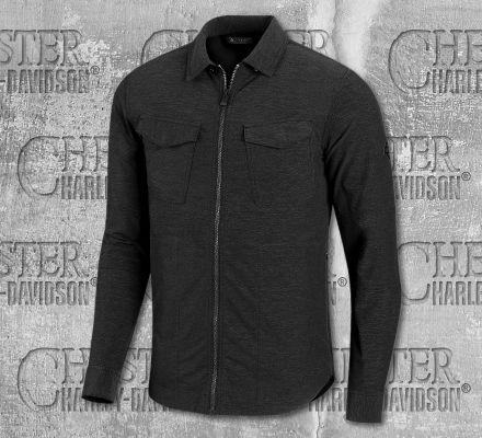 Harley-Davidson® Men's Slim Fit Long Sleeve Shirt 99014-20VM