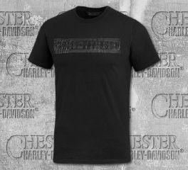 Harley-Davidson® Men's Rubber Print Short Sleeve Tee 99026-20VM