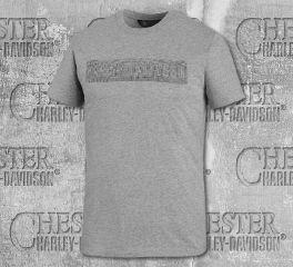 Harley-Davidson® Men's Rubber Print Short Sleeve Tee 99027-20VM