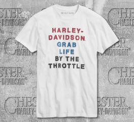 Harley-Davidson® Men's By The Throttle Short Sleeve Tee 99020-20VM