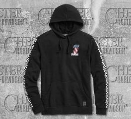 Men's Checkered Pullover Hoodie