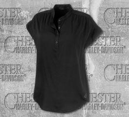 Women's Stretch Rayon Short Sleeve Shirt