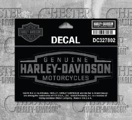 Harley-Davidson® Small Velocity Text Decal, Global Products, Inc. DC327802