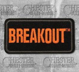 Harley-Davidson® Small Breakout Embroidered Emblem, Global Products, Inc. EM159642
