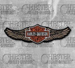 Harley-Davidson® Straight Wings Patch, Global Products, Inc. EM339123
