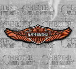 Harley-Davidson® Straight Wings Patch, Global Products, Inc. EM339813