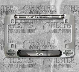 Harley-Davidson® Skull Motorcycle License Plate Frame, Global Products, Inc. MF119980