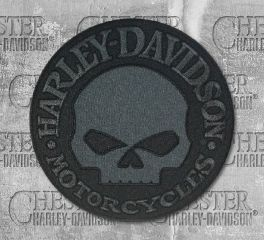 Harley-Davidson® Large Willie G Skull Emblem Patch, Global Products, Inc. EM1048804