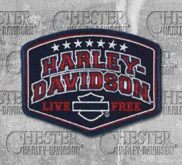 Harley-Davidson® Embroidered Harley® Pride Emblem Patch, Global Products, Inc. EM299842