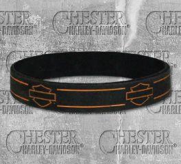 Harley-Davidson® Debossed Blank Bar & Shield® Wristband, Global Products, Inc. WB114464
