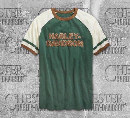 Harley-Davidson® Men's Stripes Short Sleeve Tee 96664-19VM