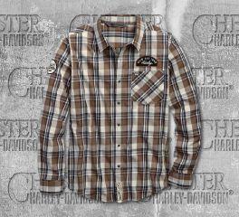Harley-Davidson® Men's Kick Ass Iron Long Sleeve Shirt 96635-19VM