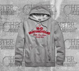 Harley-Davidson® Men's Kick Ass Iron Hoodie 96685-19VM
