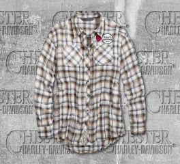 Harley-Davidson® Women's Harley® Vibes Long Sleeve Shirt 96702-19VW