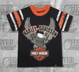Harley-Davidson® Little Boy's Up-Wing Eagle Raglan Jersey Tee, OkisOnent GmbH 1080565