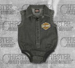 Harley-Davidson® New Born Boy's Denim Creeper, OkisOnent GmbH 3052807