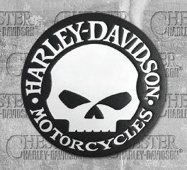 Harley-Davidson® Willie G Skull Emblem Patch HDEML1000