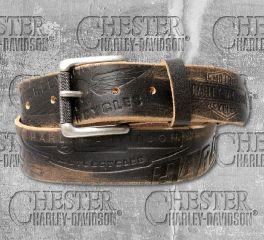 Harley-Davidson® Men's Distressed Freedom Leather Belt HDMBT10818
