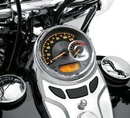 Harley-Davidson® Combo Analog Speedometer/Tachometer km/h 74775-11C
