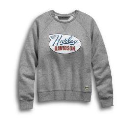 Harley-Davidson® Distressed Print Pullover Sweatshirt 99113-19VW