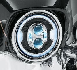 Harley-Davidson® 7 in. Daymaker Adaptive LED Headlamp 67700426A