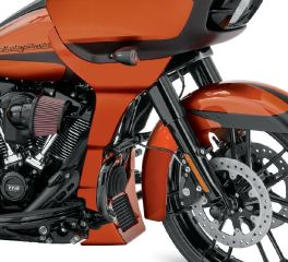 Harley-Davidson® Scorched Orange Road Glide Fairing Spoiler 57001042ELG
