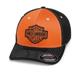 Harley-Davidson® Colorblock Stretch Cap 99469-19VM