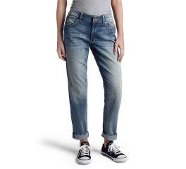 Harley-Davidson® Washed Boyfriend Mid-Rise Jeans 99247-19VW