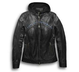 Harley-Davidson® Kenova 3-in-1 Leather Jacket 97034-19VW