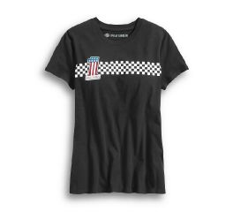 Harley-Davidson® No1 Checkered Stripe Tee 99042-20VW
